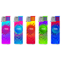 Electronic Mirror label Lighter 165012 laser Colorful