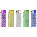 Electronic Glitter label Lighter 161025 glitter