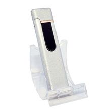 Öngyújtó 400198 fém ízzószálas Boston USB ezüst
