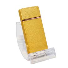Öngyújtó 400202 fém ízzószálas Denver USB matt arany