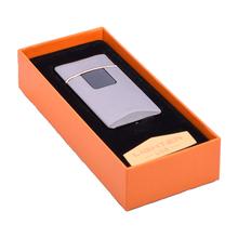 Öngyújtó 400207 fém ízzószálas Rhode Island USB fekete
