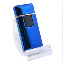 Öngyújtó 400209 fém ízzószálas Rhode Island USB kék