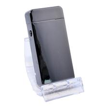Öngyújtó 400213 fém sokkolós Atlanta USB ezüst