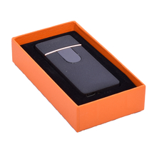 Öngyújtó 400216 fém ízzószálas Oakland USB fekete