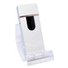 Öngyújtó 400217 fém ízzószálas Oakland USB ezüst