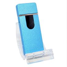 Öngyújtó 400218 fém ízzószálas Oakland USB kék