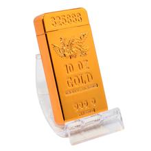 Öngyújtó 400224 fém sokkolós Orlando USB arany