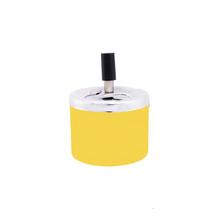 Ashtray Spinning ashtray, yellow