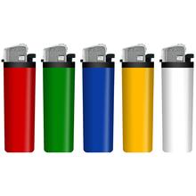 Öngyújtó 211001 tűzköves színes HC5 (119402)