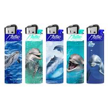 Öngyújtó 214101 tűzköves prémium Maxi delfin