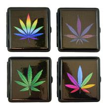 Cigarettatárca 910109 cannabis csillámos