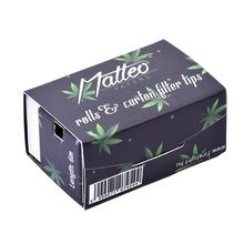 Matteo Rolls premium thin black 6M + White tips