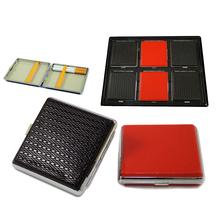 Cigarette case black-red