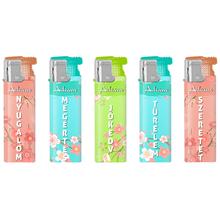 Turbo Design label Lighter 177226 floral
