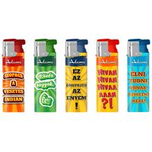 Turbo Design label Lighter 177230 speeches