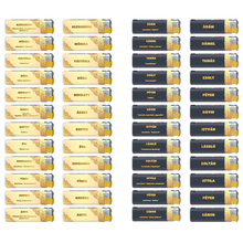 Öngyújtó műanyag 181500 elektromos mintás fix lángos Adamo keresztnevek