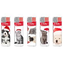 Electronic Matt label Lighter 183012 cats-dogs