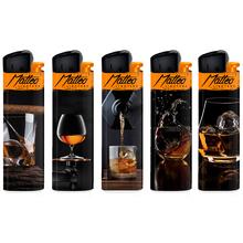 Öngyújtó 214037 tűzköves Matteo whiskey