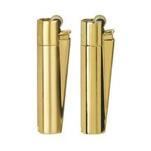 Öngyújtó fém CM0S010 tűzköves Clipper arany