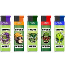 Turbo Design label Lighter 174067 cannabis
