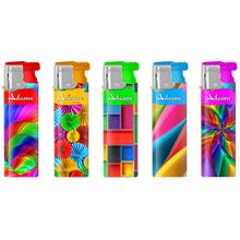 Turbo Design label Lighter 177239 colorful shapes