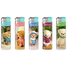 Electronic Design label Lighter 181234 with Fix flame teddybear