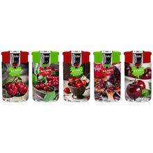 Öngyújtó műanyag 195605 dupla lángos Matteo illatos cseresznye