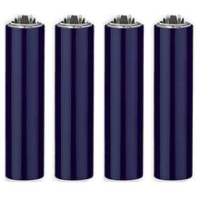 Öngyújtó fém FCP118H tűzköves Clipper kék