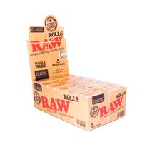 Cigarettapapír 7490 RAW Rolls Organic