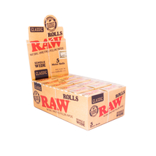 Cigarette paper RAW Rolls SW Classic