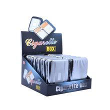 Cigarettatárca 80604 fém nyomott mintás/12db
