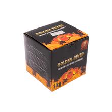 Faszén 343150 Golden River prémium 1 kg kókuszos