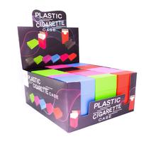 Cigarette box plastic colour