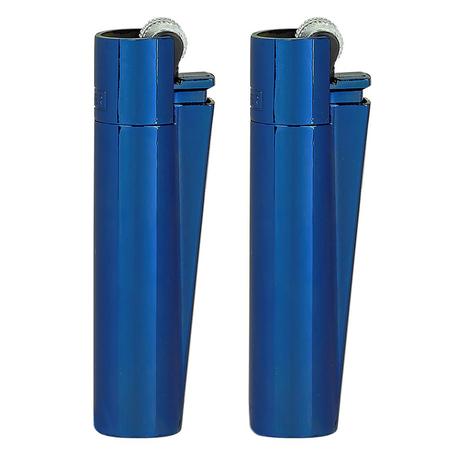 Öngyújtó CMPM102 tűzköves Clipper mini fém kék