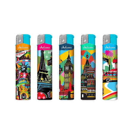 Electronic Design label Lighter 189066 city