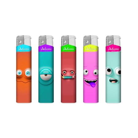 Electronic Design label Lighter 189069 smile