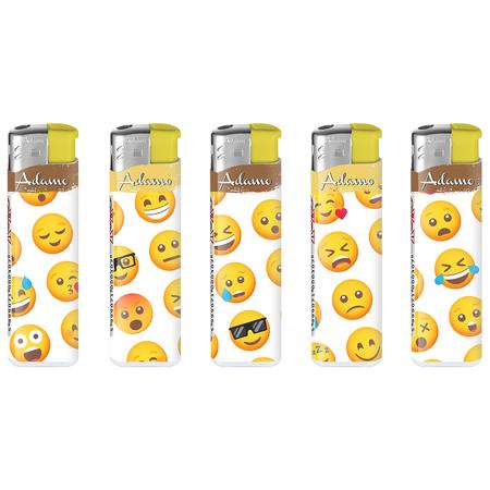 Öngyújtó 181237 elektromos fix lángos vicces smile arcok