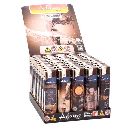Öngyújtó 189041 elektromos skinny Adamo kávé