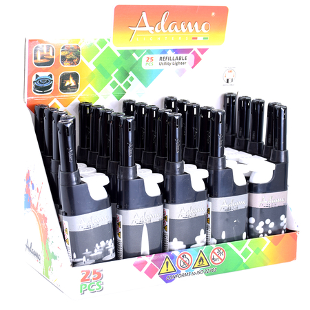 BBQ lighter mini 346125 black and white candles