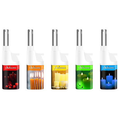 BBQ lighter mini 346126 white/colorful candles