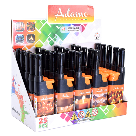 BBQ lighter mini 346131 orange candles