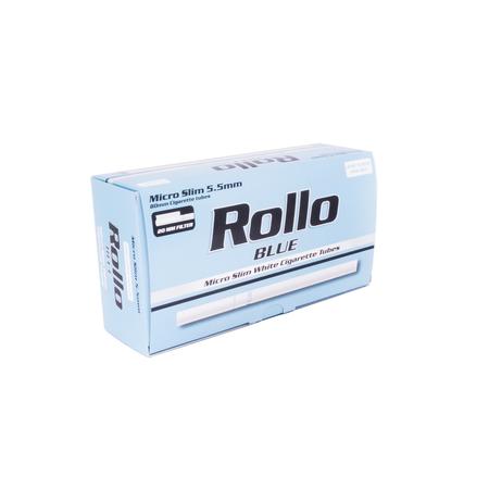 Cigarettahüvely 3544 Rollo Blue micro slim