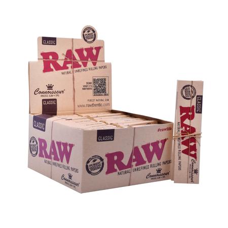 Cigarette paper RAW Classic Connoisseur KS Slim+tip